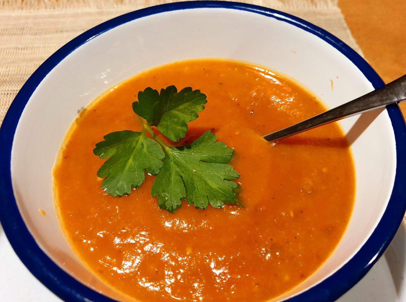 Roast Tomato and Butternut Soup