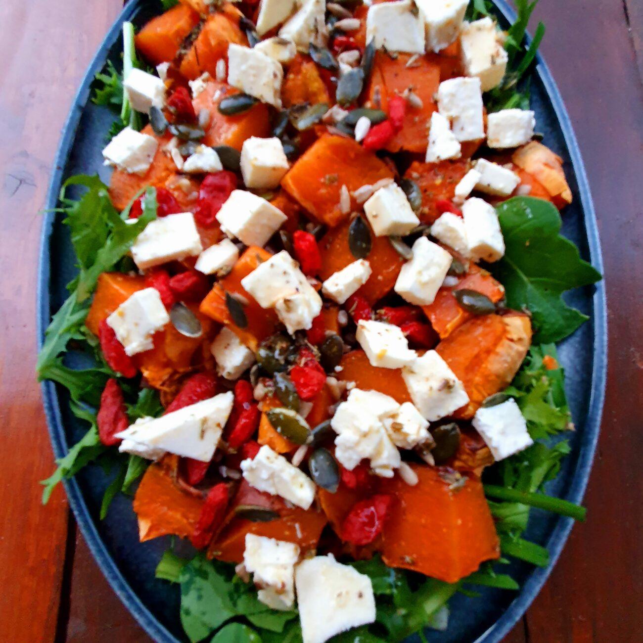 Rocket and Sweet Potato Salad